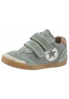 Bisgaard tépőzáras sneaker cipő velúrbőrből csillagmintával