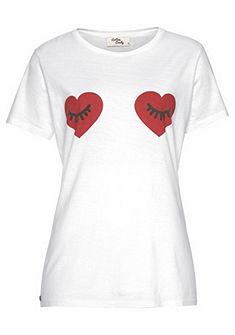 Cotton Candy Tričko s kulatým výstřihem »Cilli«