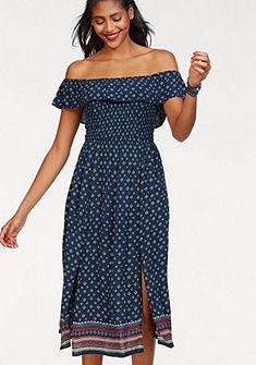 Superdry Šaty bez ramínek »RUFFLE SMOCKED DRESS«