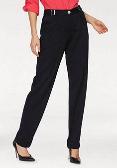 Laura Scott egyenesszárú elegáns nadrág derekán állítható csatokkal