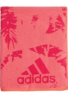 Strandtörölköző, adidas Performance, sportos logónyomással