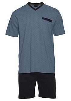 Götzburg férfi rövid pizsama elasztikus derékkal  »Orson«