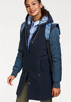 KangaROOS Prechodný kabát, kvalitný mix materiálov