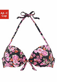 LASCANA Bikinový push-up top »Blümli«