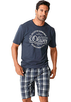 s.Oliver RED LABEL Bodywear Pyžamo s předním potiskem