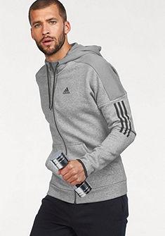 adidas Performance Sportovní bunda »MEN SOLID LOGO FULLZIP FLEECE«