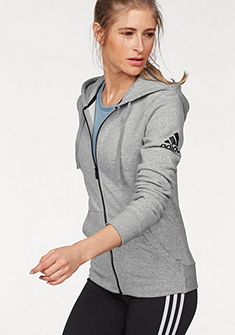 adidas Performance Mikina s kapucí »ESSENTIAL SOLID FZ HOODIE«