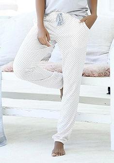 LASCANA Dlouhé kalhoty s elastickým pasem
