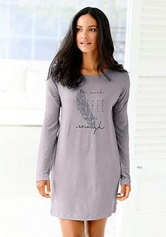 LASCANA Nočná Košile s raglánovými rukávy