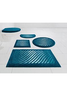Kúpeľňová predložka, 3-diel. set, s výrezom »Dulado« výška 20 mm, protišmyková úprava