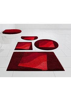 Fürdőszobaszőnyeg »Squere«, magasság 20 mm, csúszásgátló hátoldallal