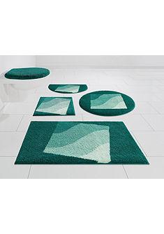 Kúpeľňová predložka, kruh »Squere« výška 20 mm, protišmyková zadná strana