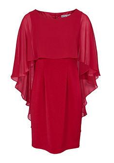 ASHLEY BROOKE by Heine koktejlové šaty so šifónovým lemom