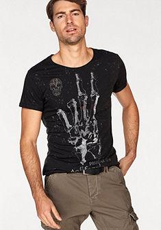 Key Largo rövid ujjú kereknyakú póló nyomott mintával