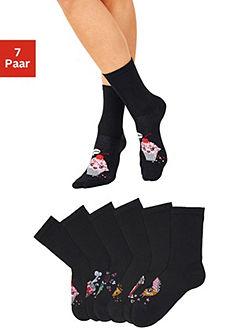 H.I.S Ponožky (7 párů) s barevnými motivy