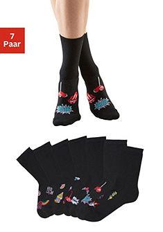 H.I.S Ponožky (7 párů) s různými motivy