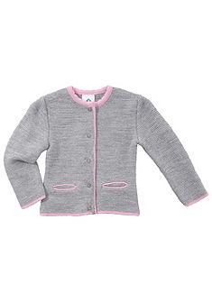 Dětský krojový pletený svetr Isar-Trachten melírovaný
