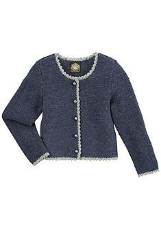 Dětský krojový pletený svetr Hammerschmid z příjemné vlny