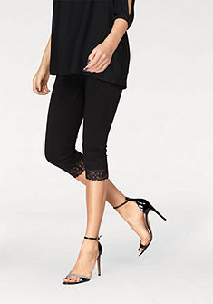 Vero Moda 3/4-es leggings csipke részletekkel »MAXI«