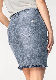 Glücksstern Riflová sukňa »Perla«
