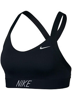 Nike Sportovní podprsenka »NIKE PRO INDY LOGO BACK BRA«