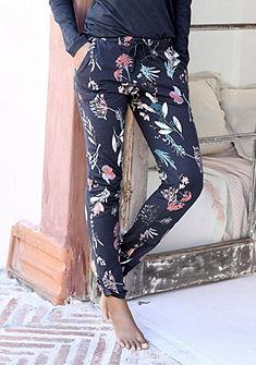 s.Oliver RED LABEL Bodywear Kalhoty s květinovým potiskem