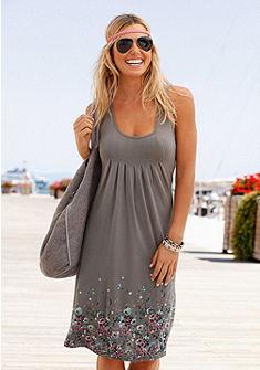 Beachtime Plážové šaty s  květinovým potiskem