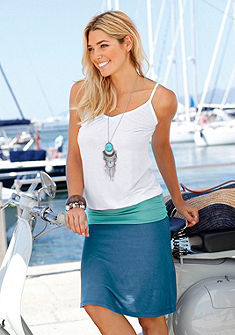 Beachtime Plážové šaty s dvouvrstvým vzhledem