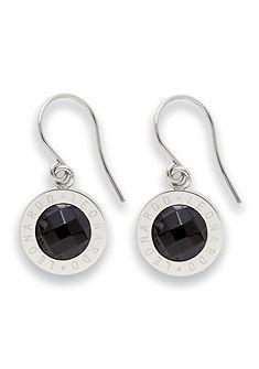 Náušnice, Jewels by Leonardo, »čierne náušnice matrix«