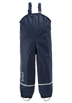 Scout Pláštěnkové kalhoty s laclem