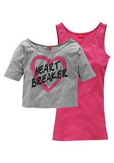 CFL Tričko a top »Heart Breaker« pre dievčatá