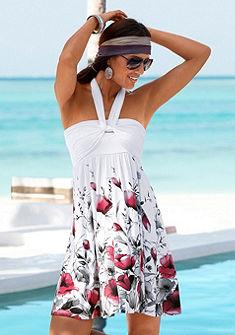 LASCANA Plážové šaty s potiskem,  lze nosit na 5 způsobů