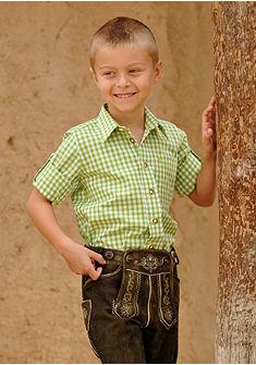 Krojová detská košeľa kockovaná, OS-Trachten