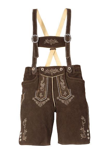 Kožené nohavice, krátke, Stockerpoint