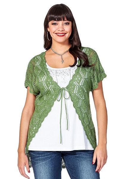 sheego Style Pletený sveter