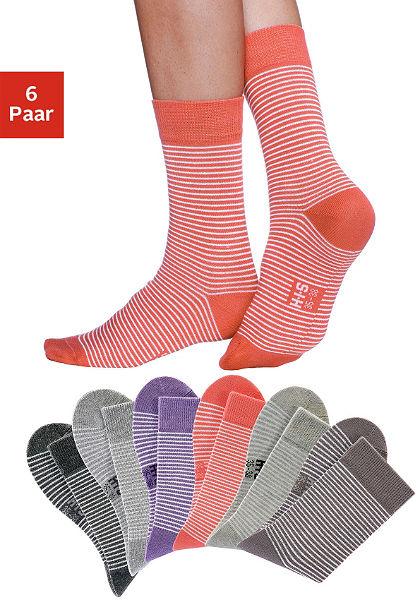 Női zokni, H.I.S (6 pár)