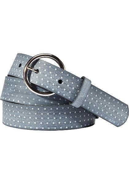 sheego Kožený pásek
