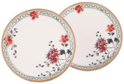 Reggeliző tányér, Villeroy & Boch, »Artesano Provençal Verdure« (2-részes szett)