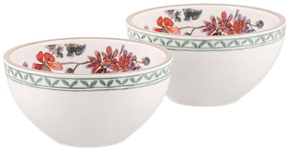 Misky na müsli v 2-díelnej súprave, Villeroy & Boch »kvetinový dekor«