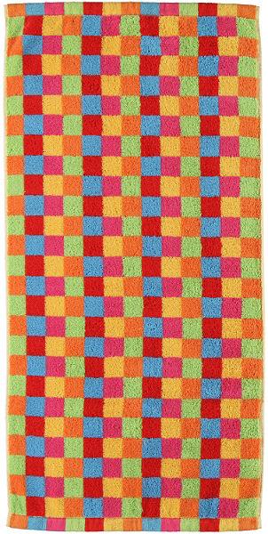Szaunatörölköző, Cawö, »Lifestyle kockás«,színes négyzetek