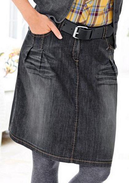 Cheer Džínsová sukňa