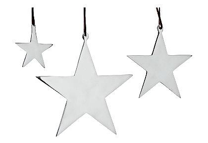 Csillag függődísz (3-részes)