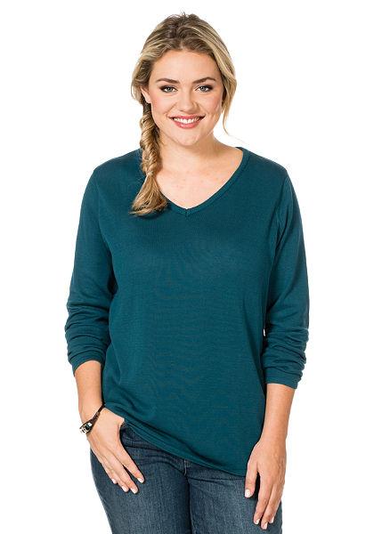 sheego Style Kötött pulóver