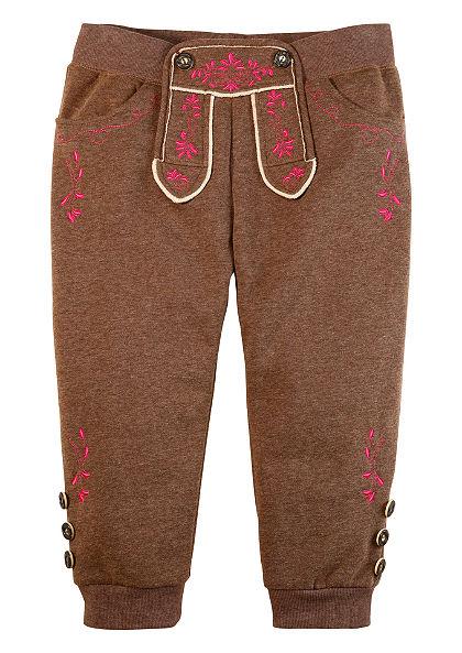 Krátke nohavice, kožený vzhľad, Krüger Madl