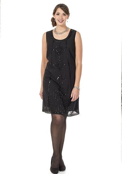 sheego Style Koktejlové šaty