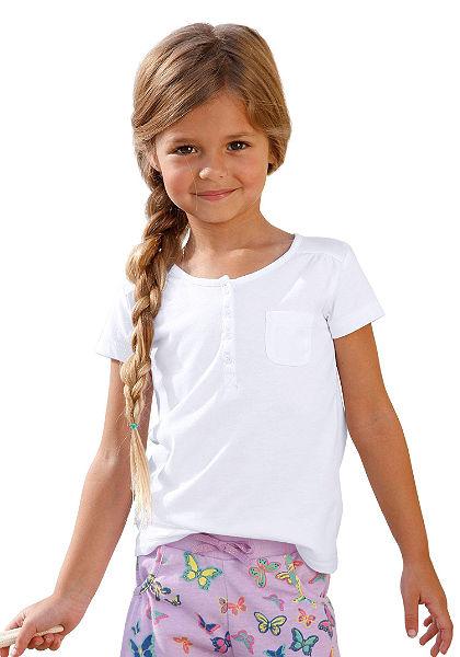 CFL póló gomboláspánttal, lányoknak