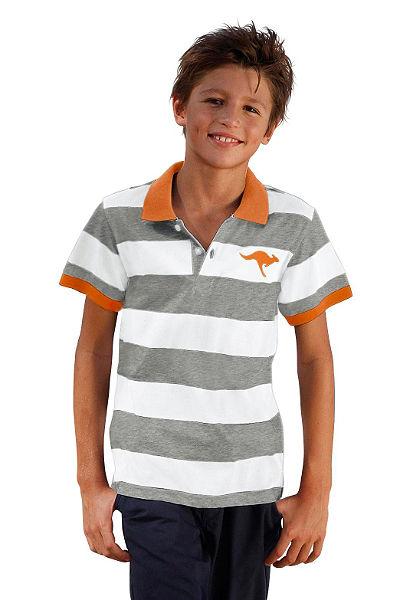 Kangaroos galléros póló,fiúknak