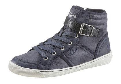 s.Oliver fűzős magasszárú cipő