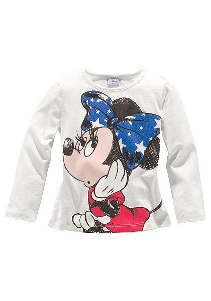 Walt Disney hosszú ujjú póló mit Minnie egér motívummal, lányoknak