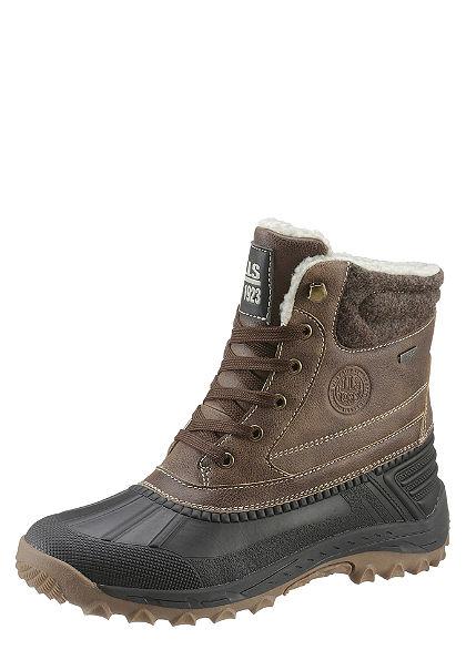 H.I.S fűzős magasszárú cipő
